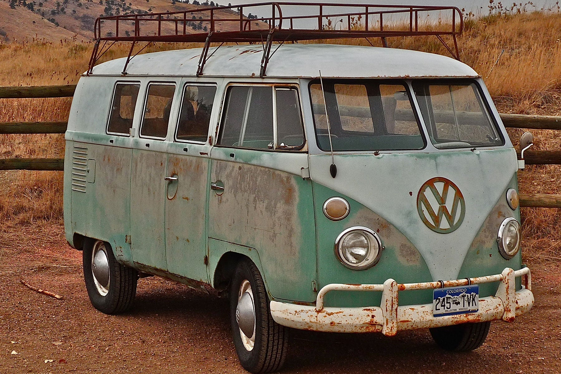 The Volkswagen van where The Pro's Closet started