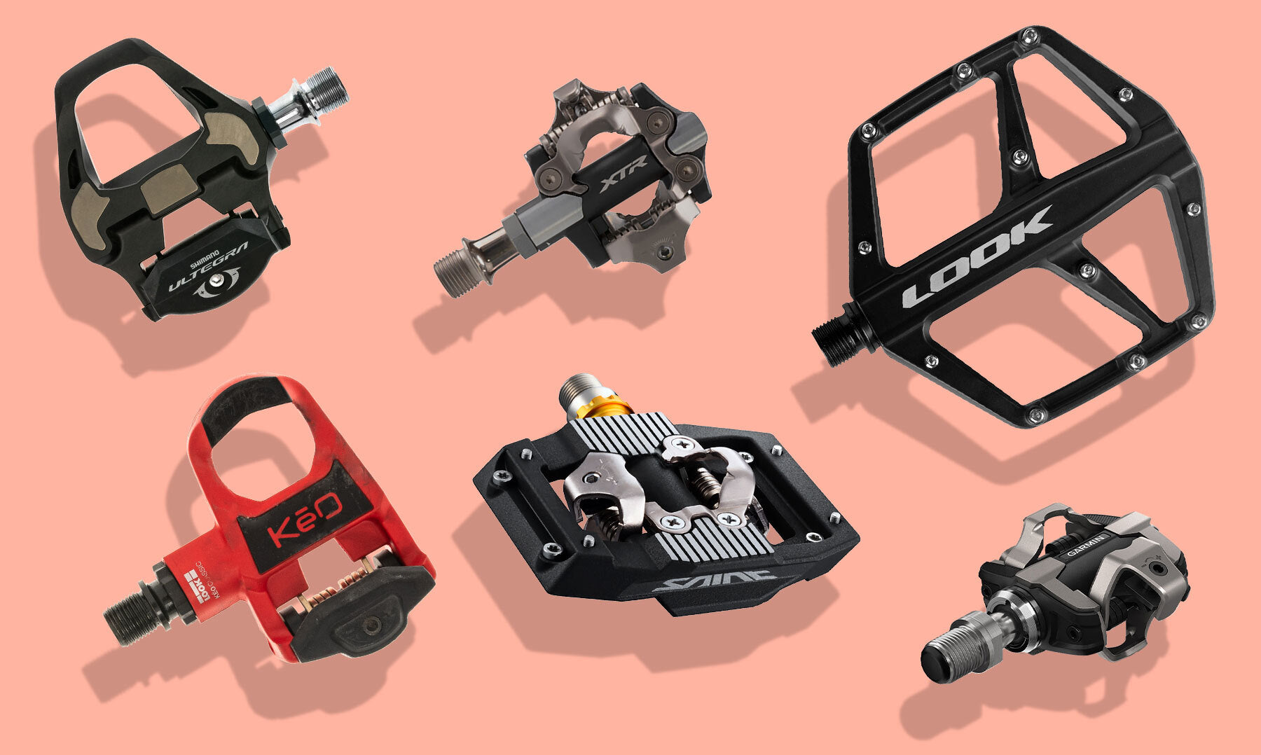 Choosing the right bike pedals