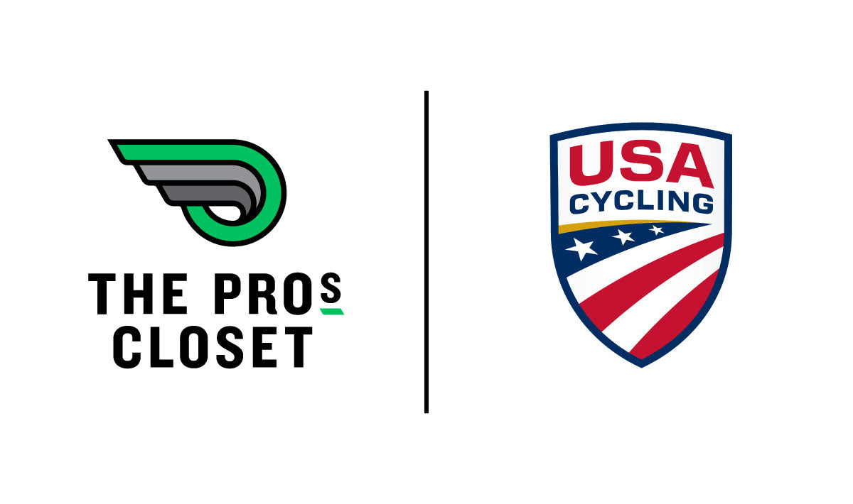 The Pro's Closet and USA Cycling partnership