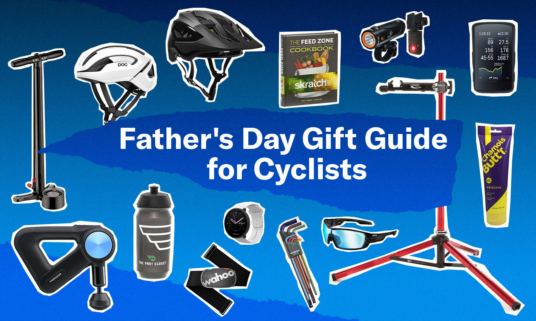 Father's day bike gift idea guide for cyclists