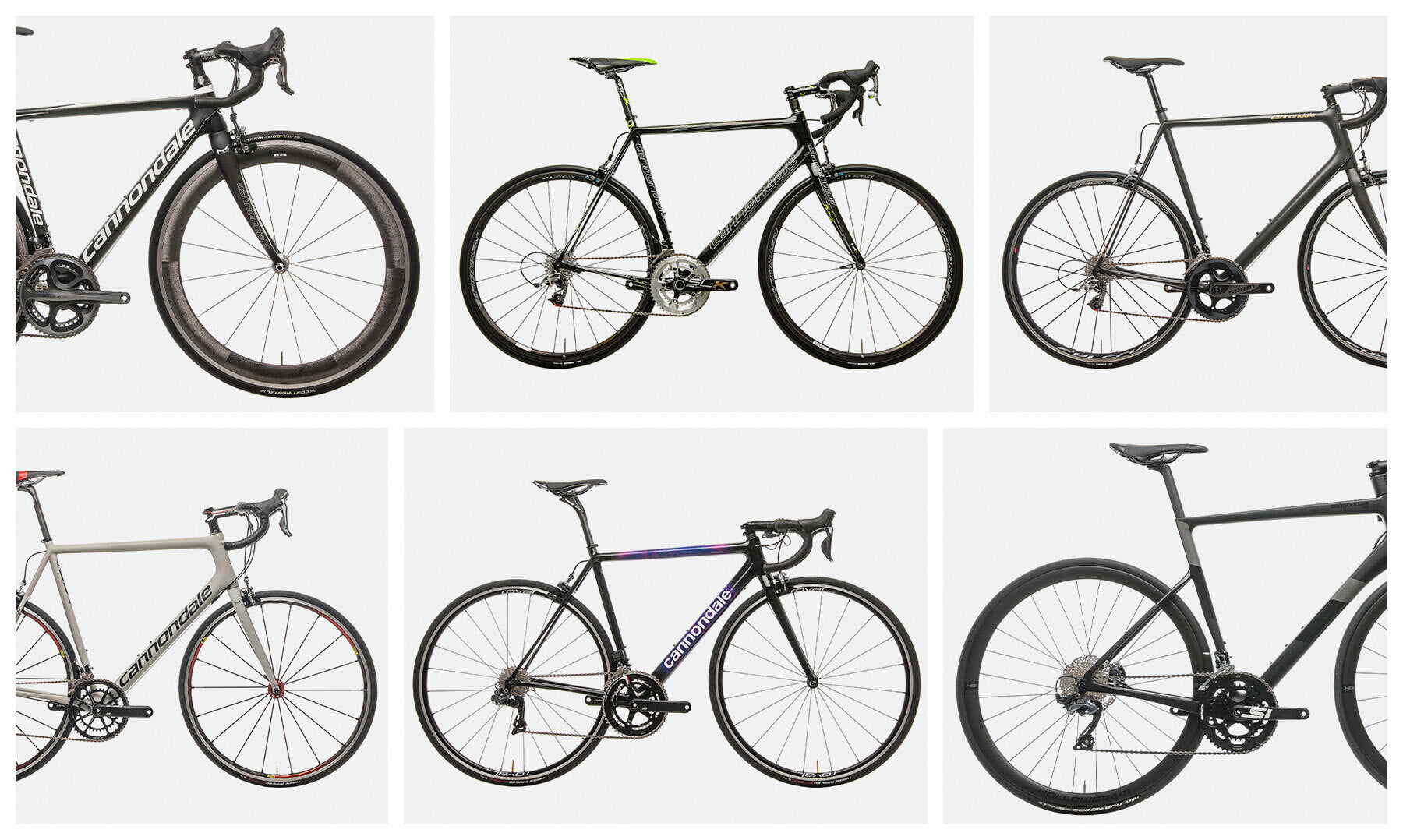 Cannondale Supersix collage