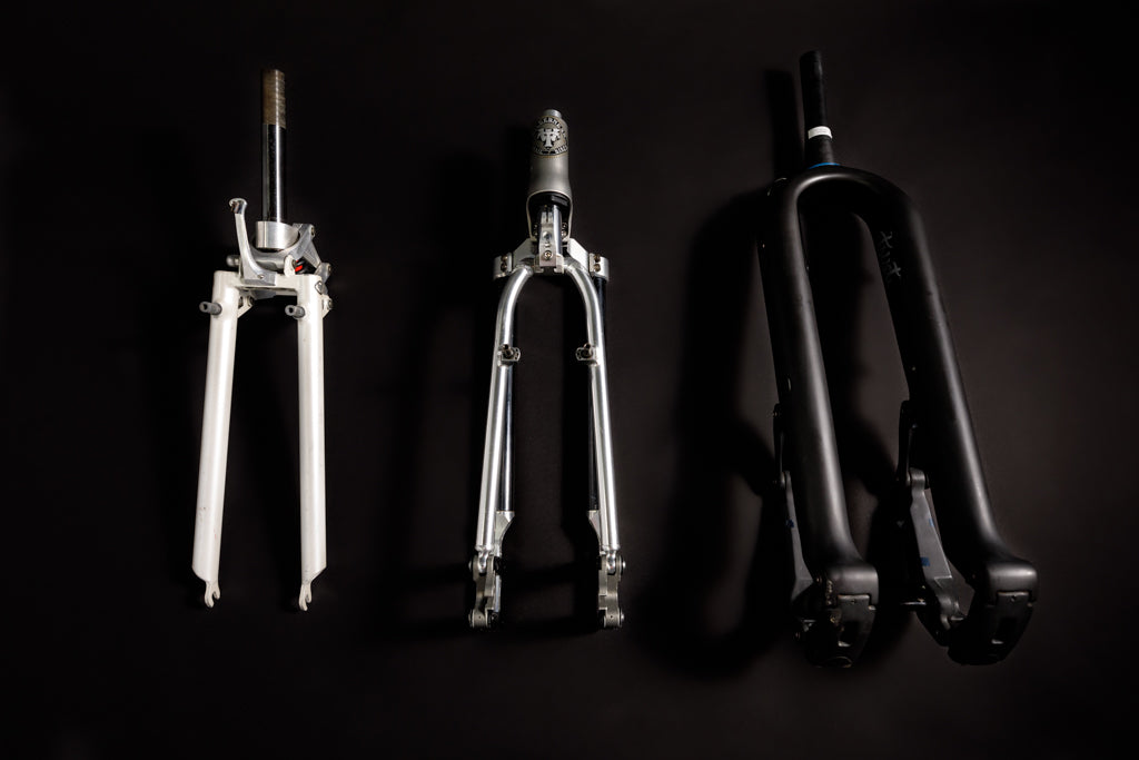 Linkage mountain bike fork lineup