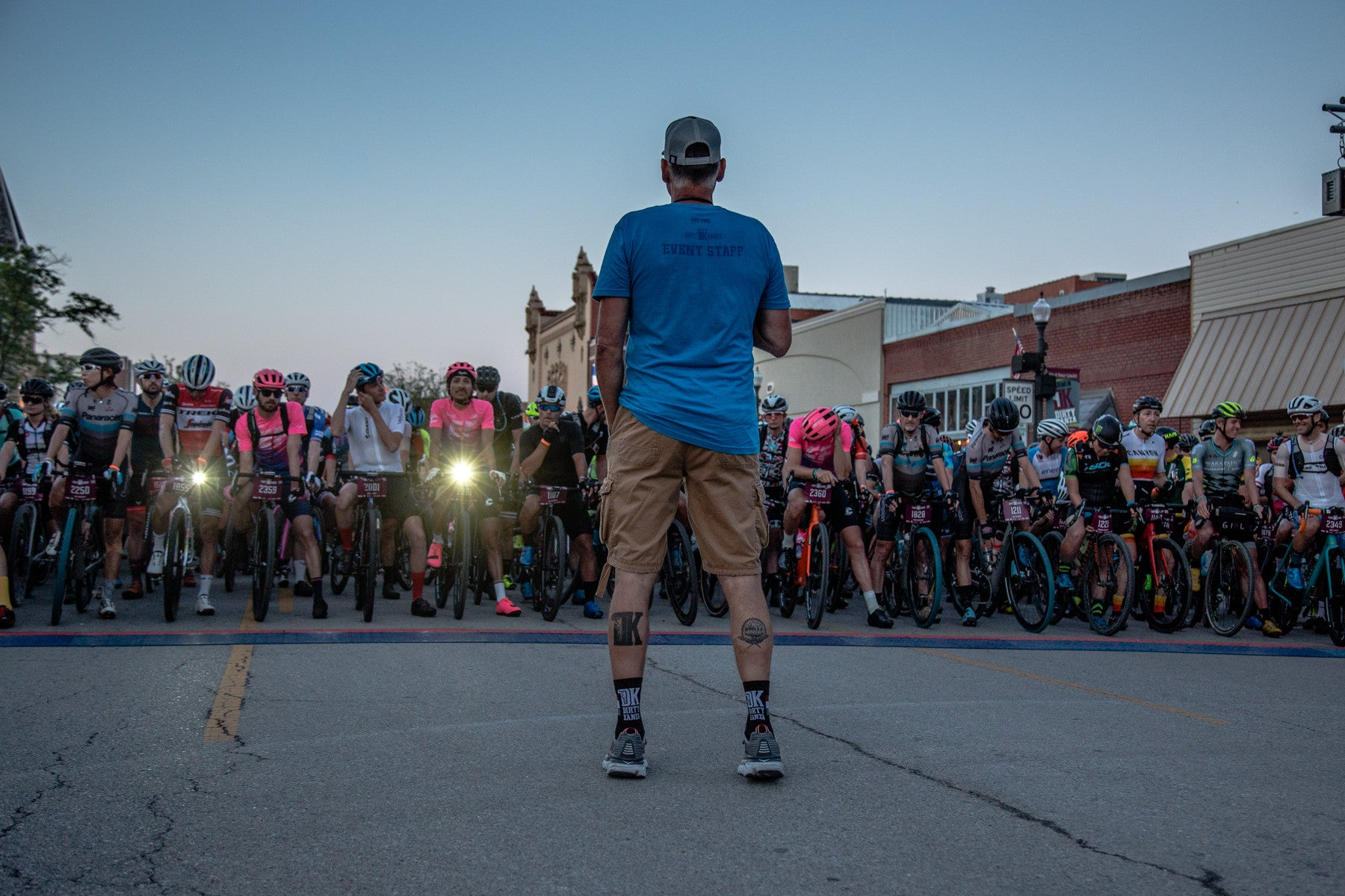 Start of 2019 Dirty Kanza 200