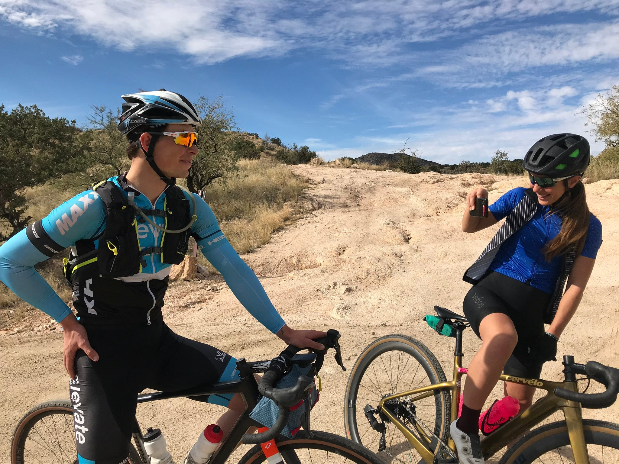 Getting stoked on Tucson riding