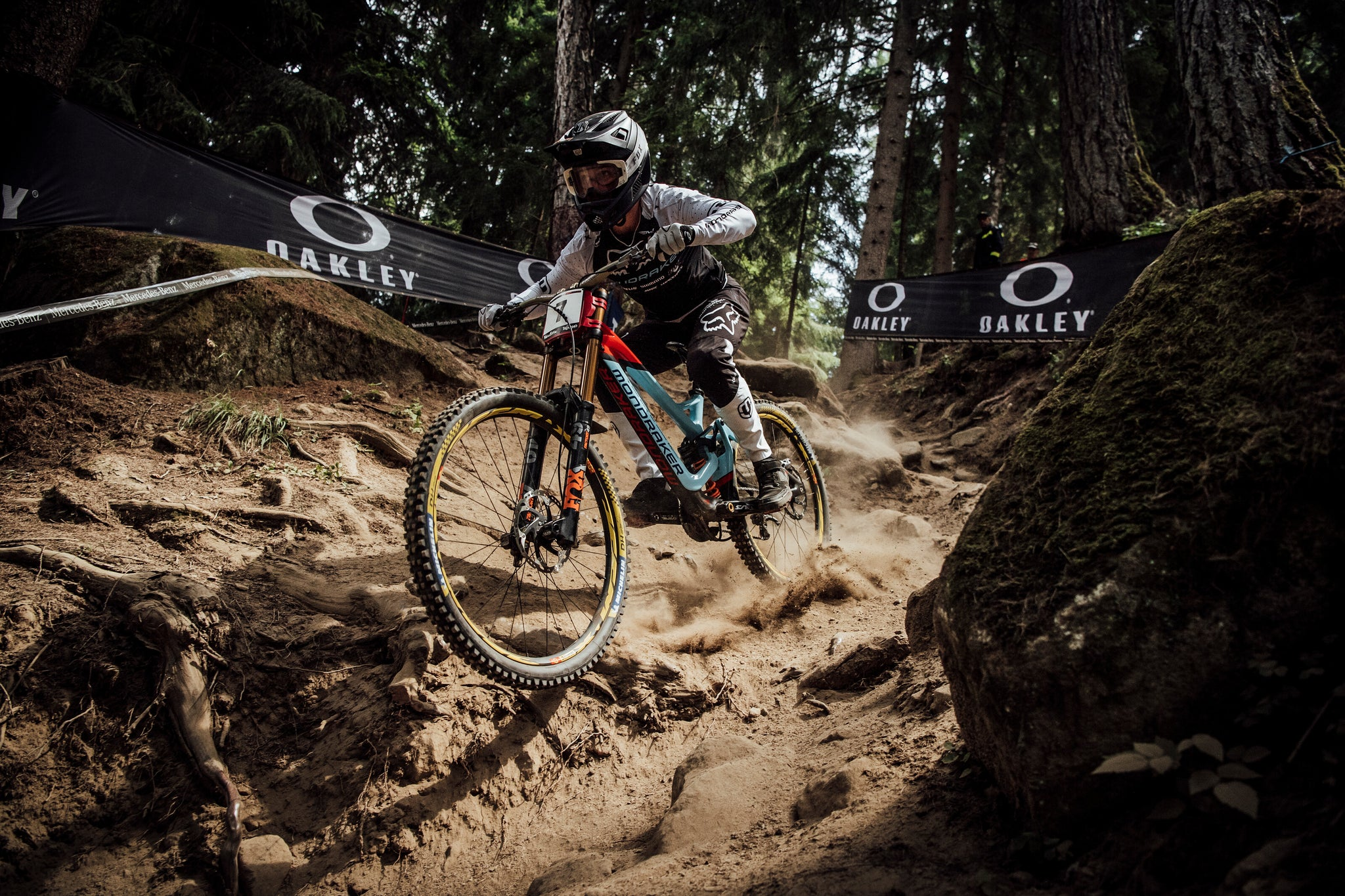 Laurie Greenland Val di Sole World Cup DH Mondraker win