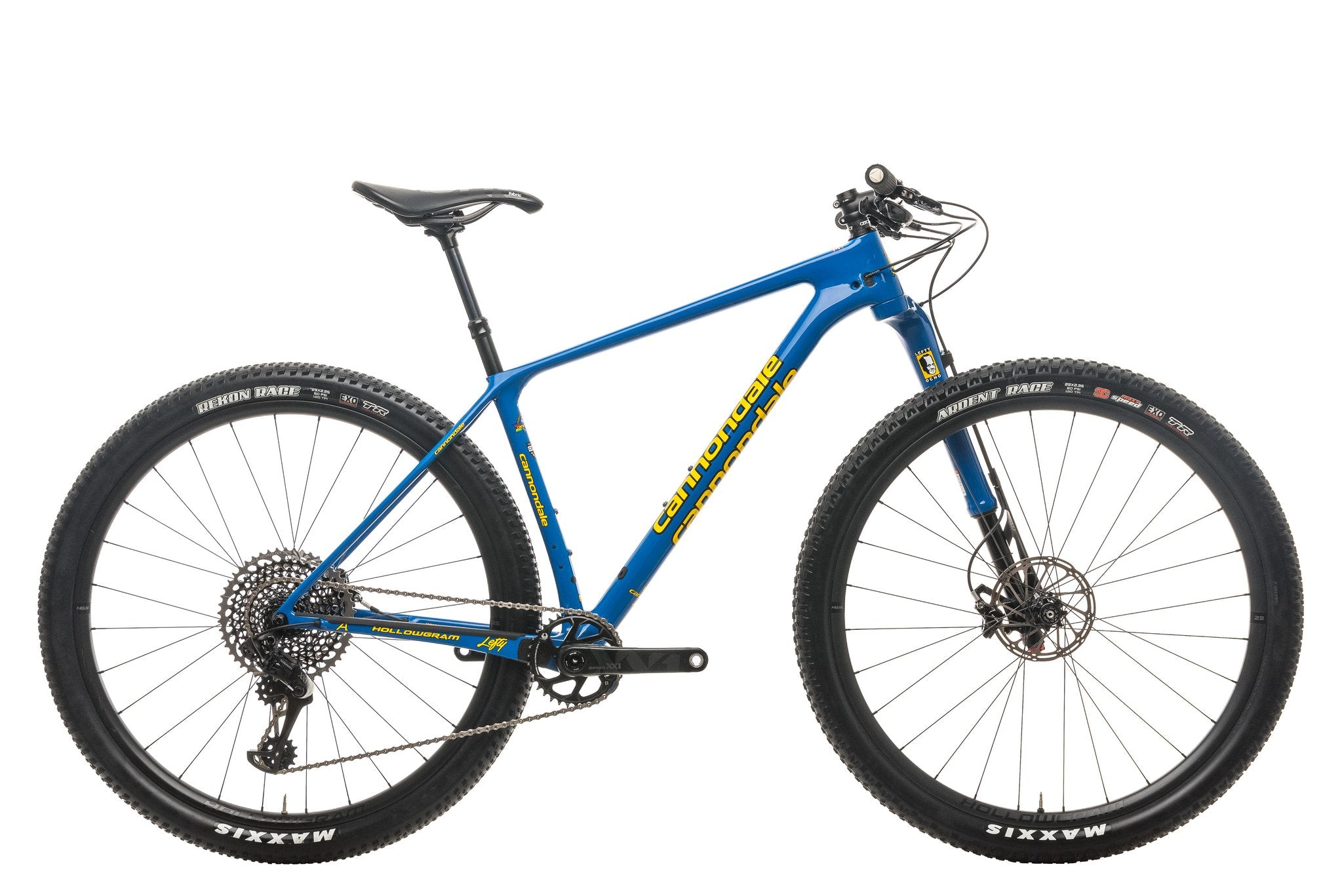 Cannondale F-Si throwback edition XC hardtail Lefty ocho review