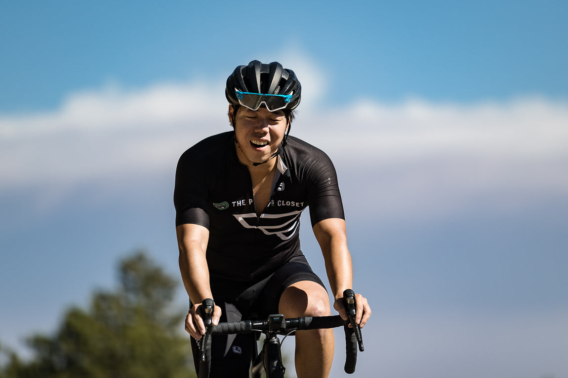 cycling for weight lose suffering and pain