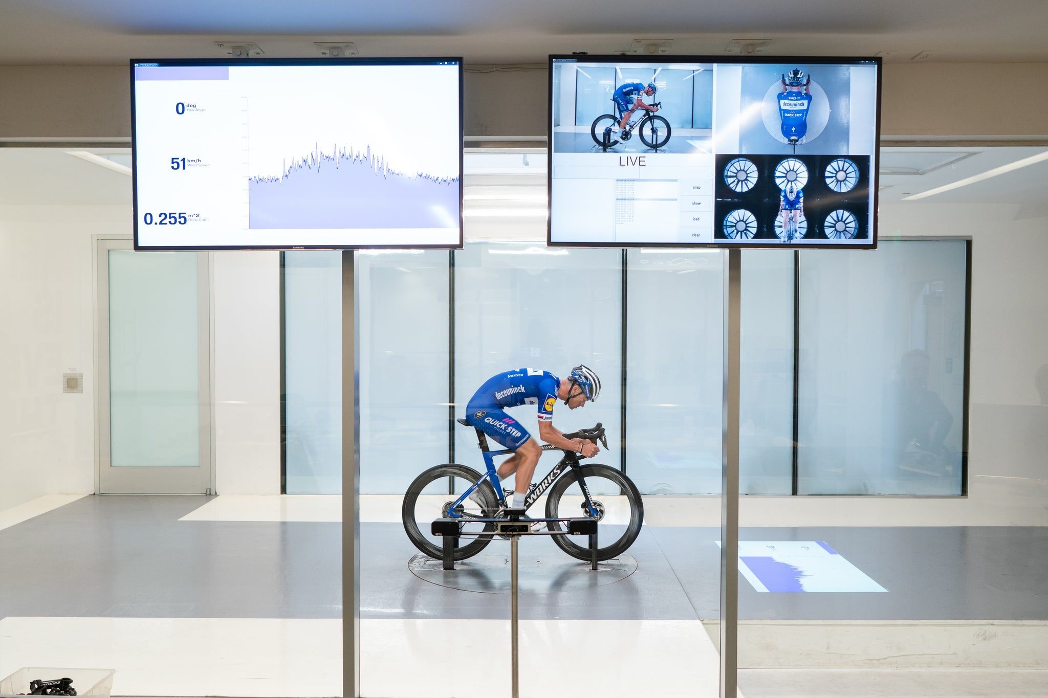 Aero road bike wind tunnel testing specialized
