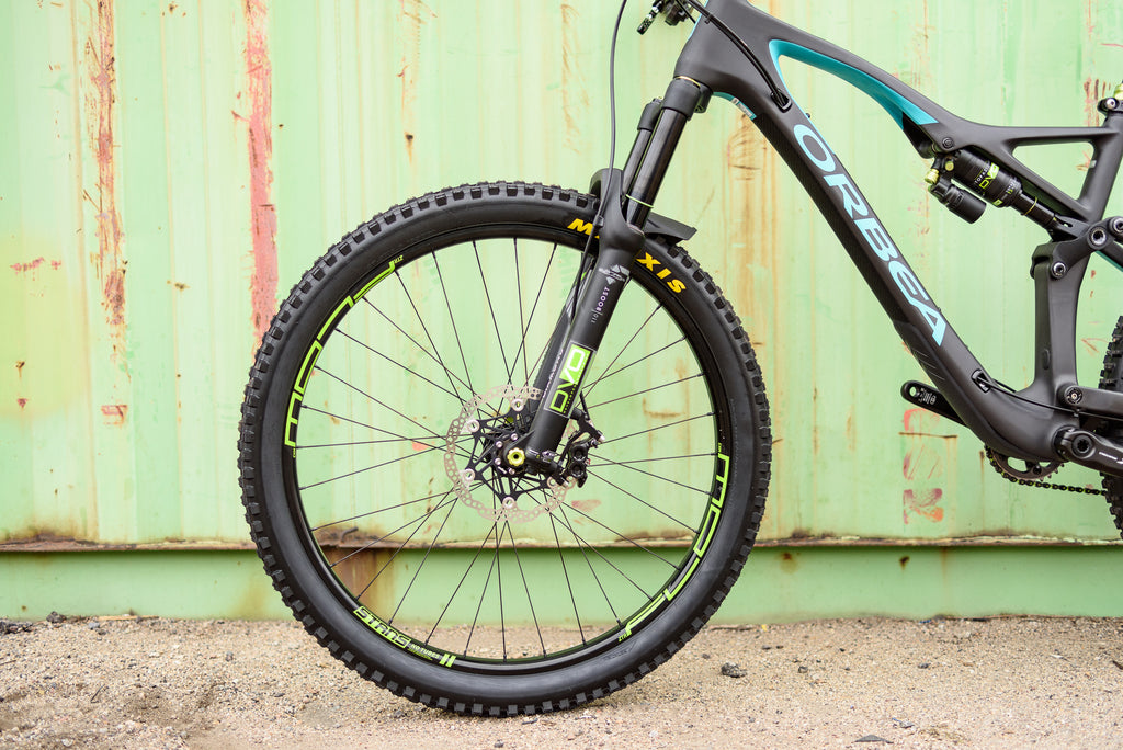2017 Orbea Occam AM with DVO suspension