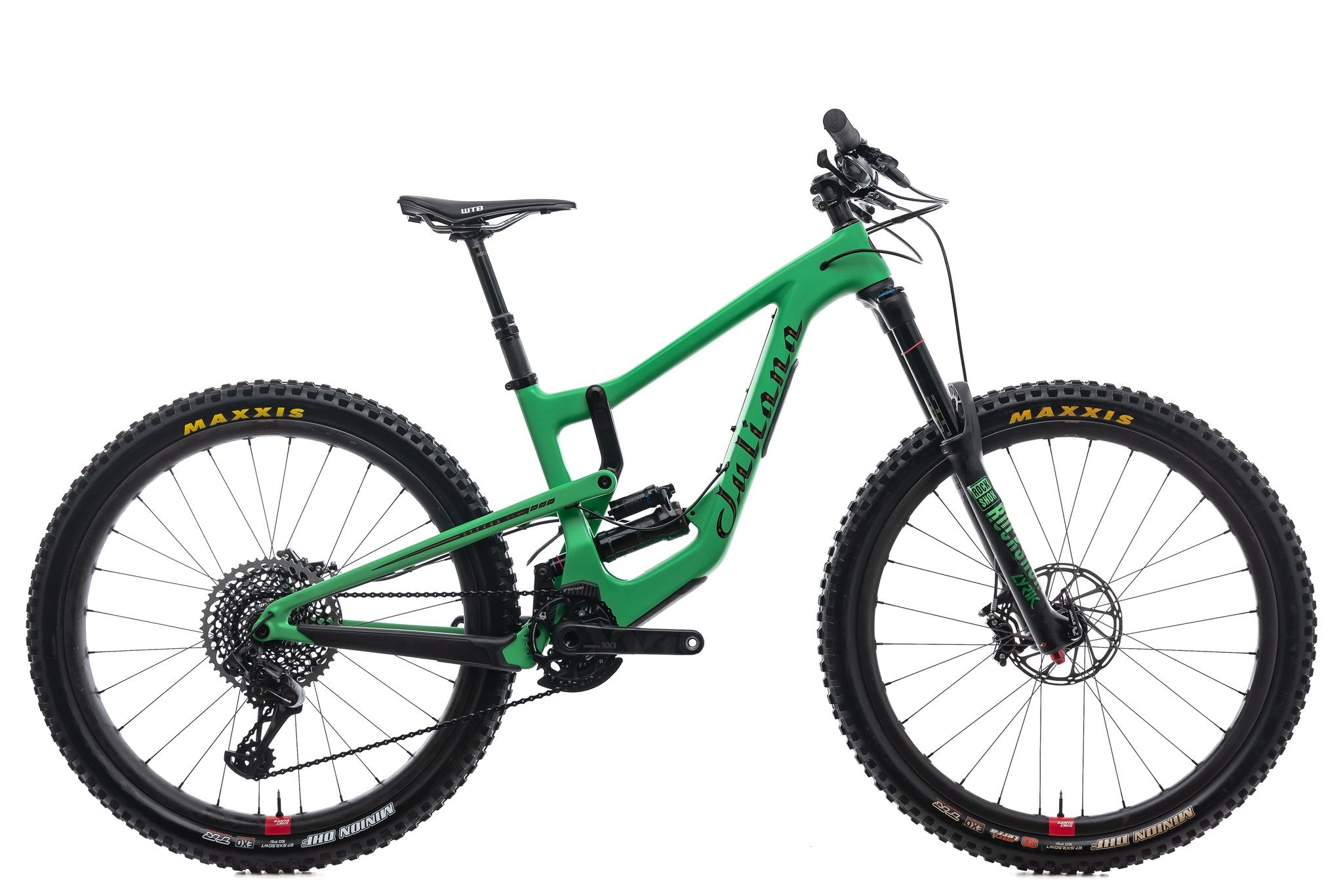 Juliana produces a range of women's specific mountain bikes including the long-travel Strega.