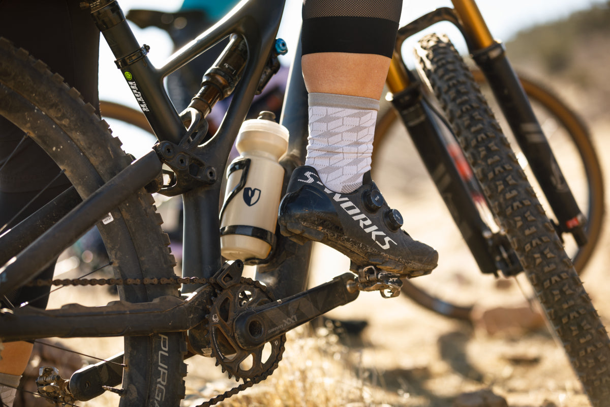 MTB pedals in action