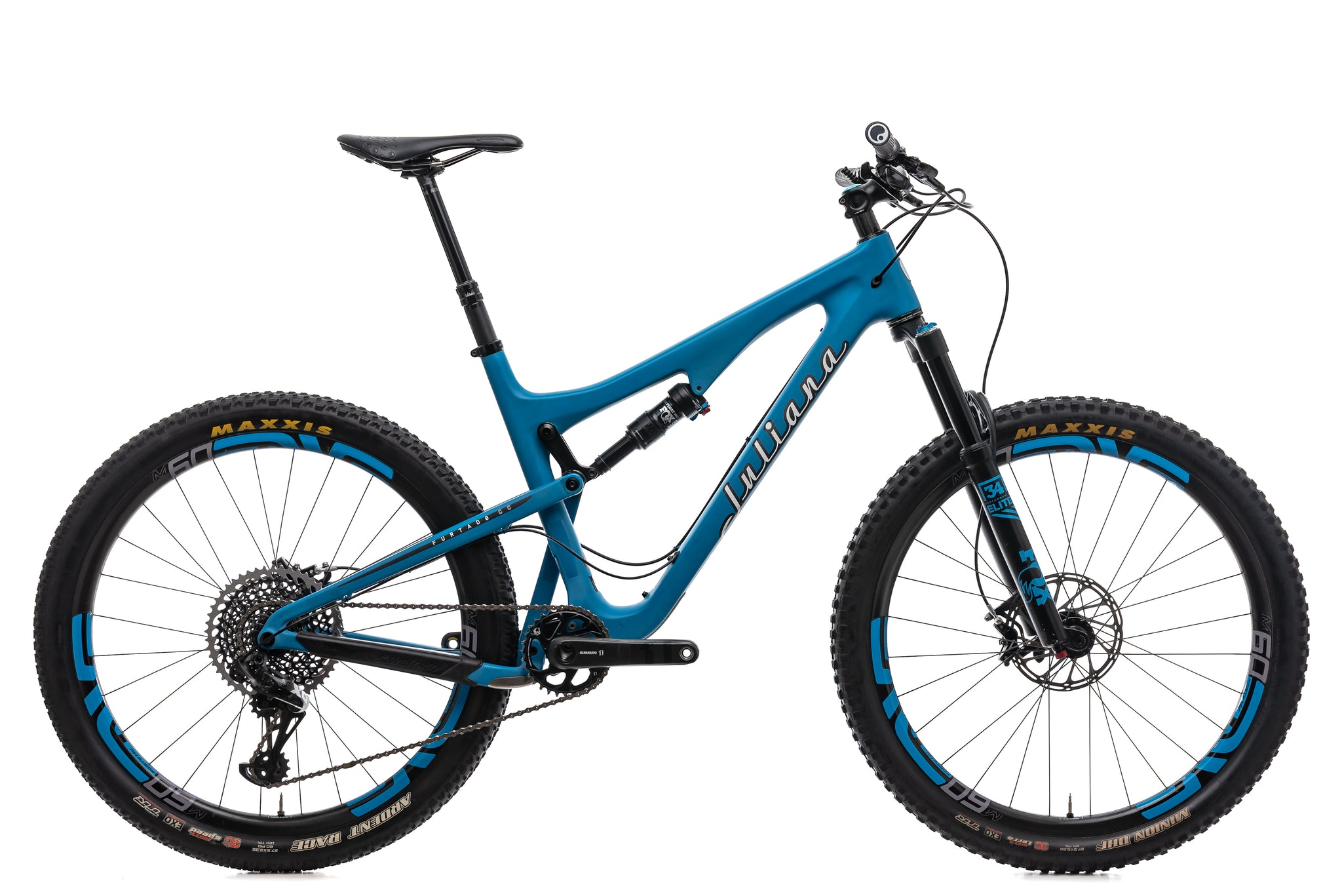 Used Juliana Furtado Santa Cruz Mountain Bike