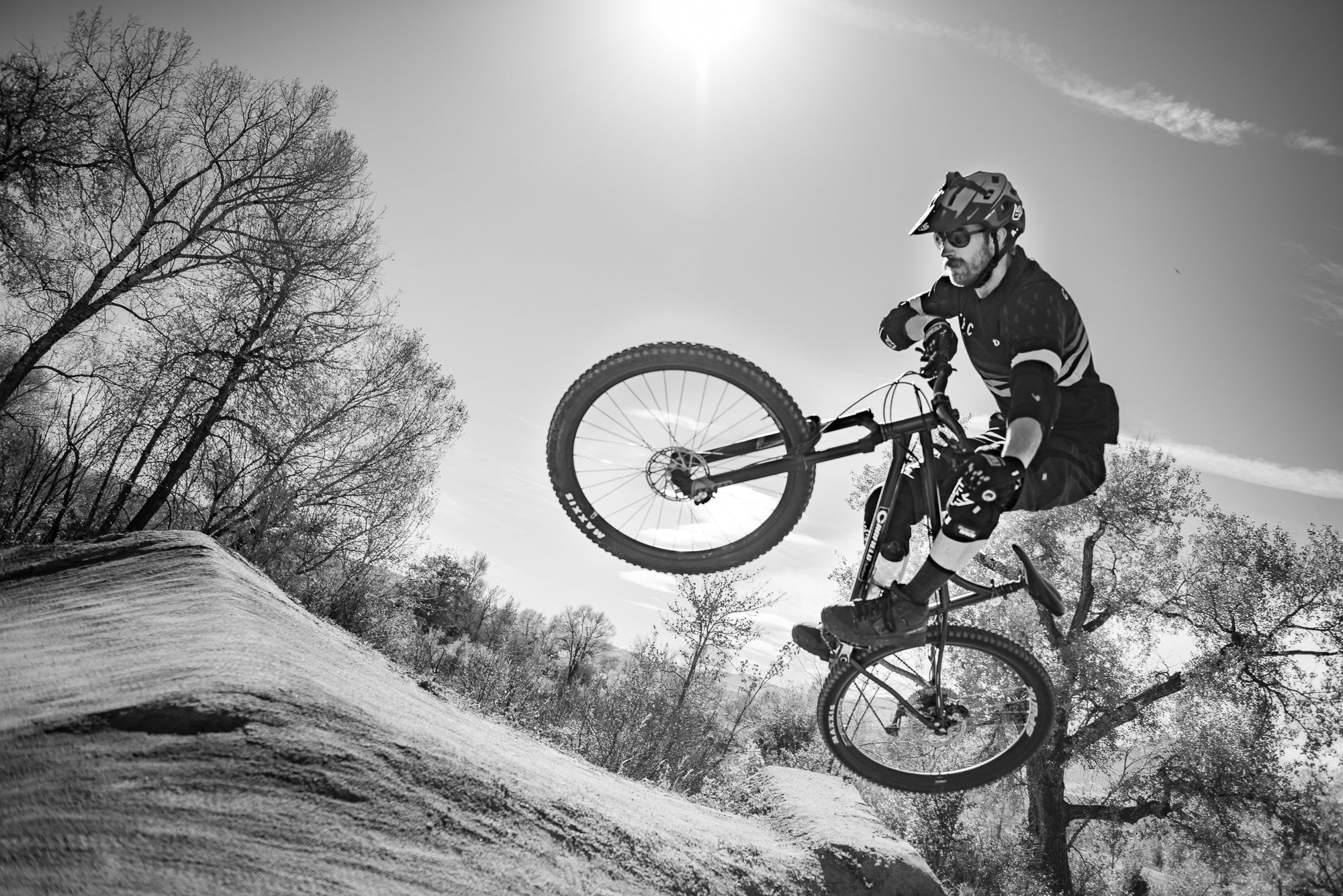 recovery from mountain bike crash and injury