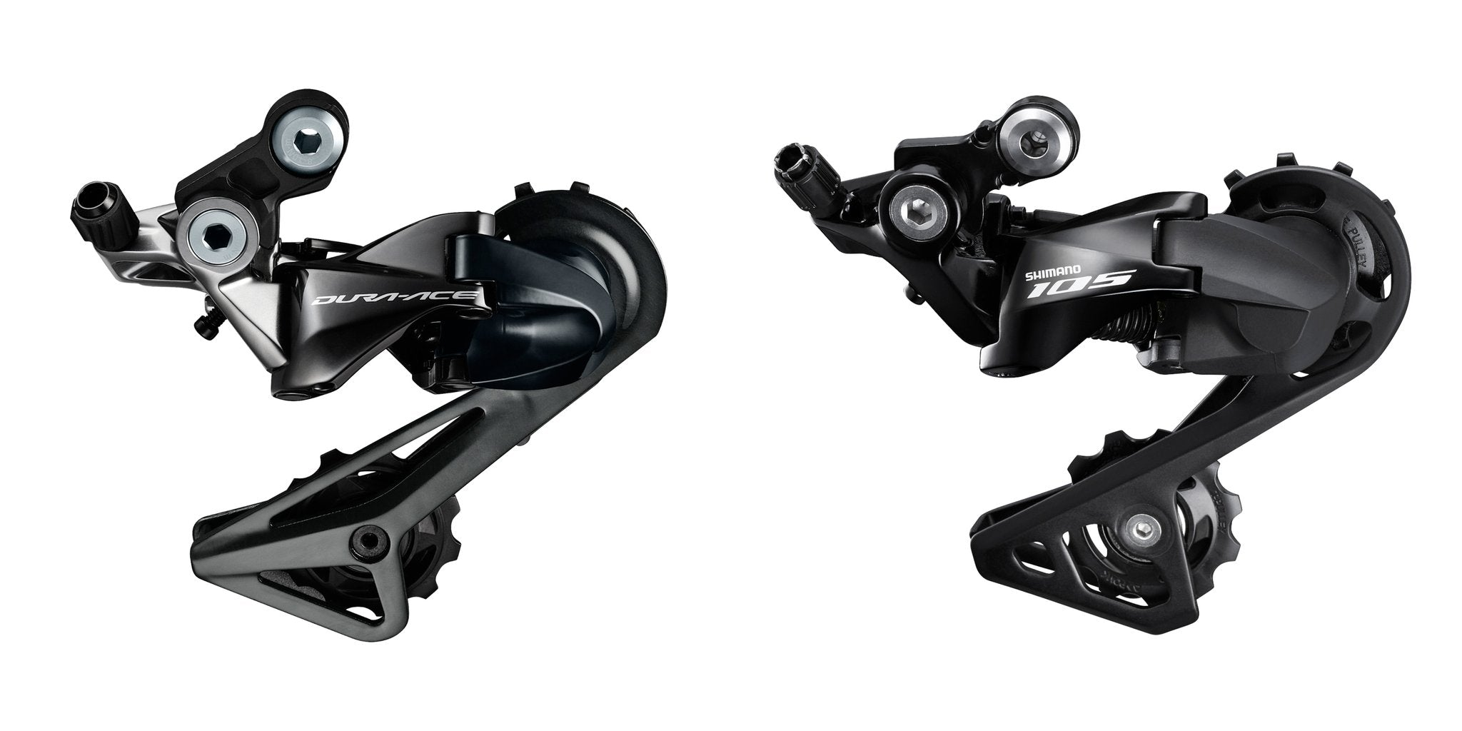 Shimano 105 vs Ultegra vs Dura-ace road bike drivetrain group set