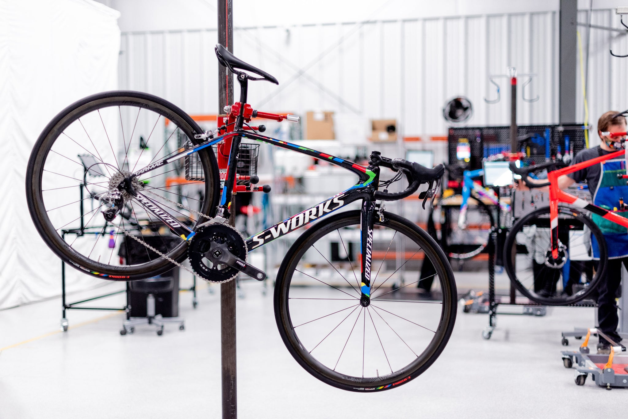 Specialized S-Work Tarmac does light road mountain bike weight matter