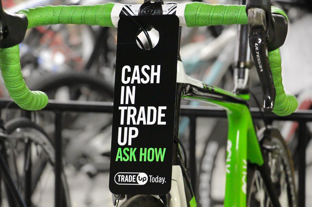 Used bike trade-in program