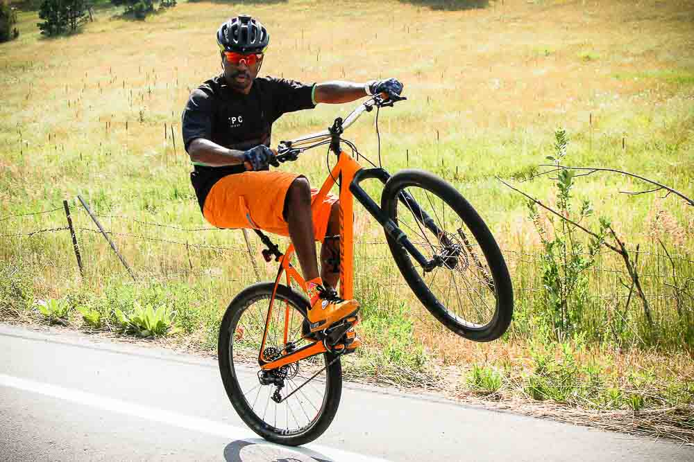 What We Ride: Alister's World Record Wheelie Specialized Stumpjumper