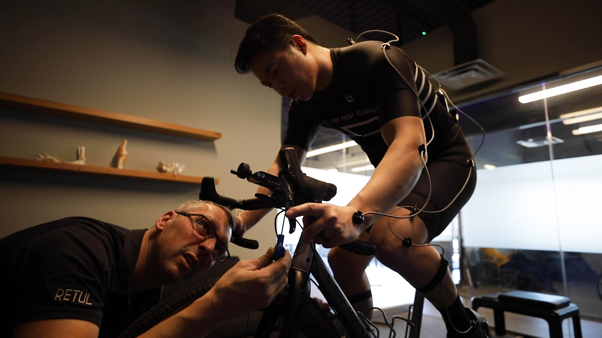 Retul bike fit stem