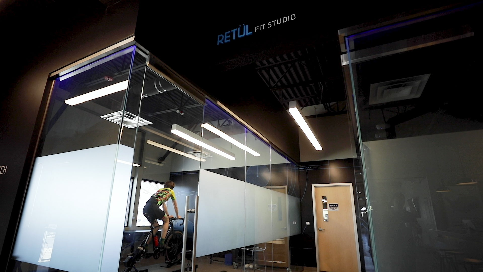 Retul bike fit studio