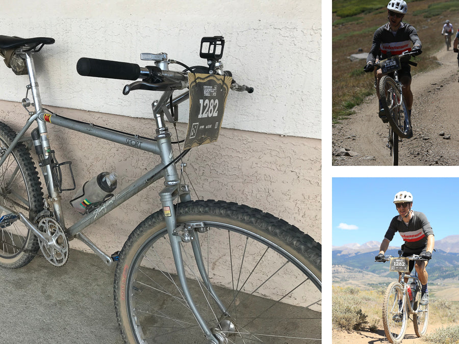 Riding Leadville Trail 100 on a vintage Specialized Stumpjumper