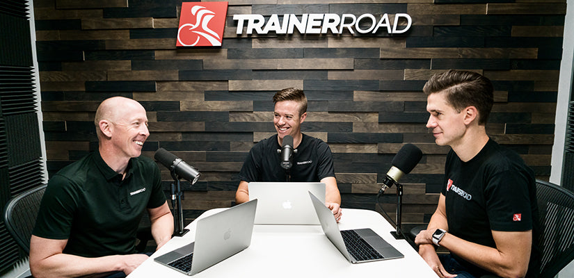 TrainerRoad Ask a cycling coach podcast