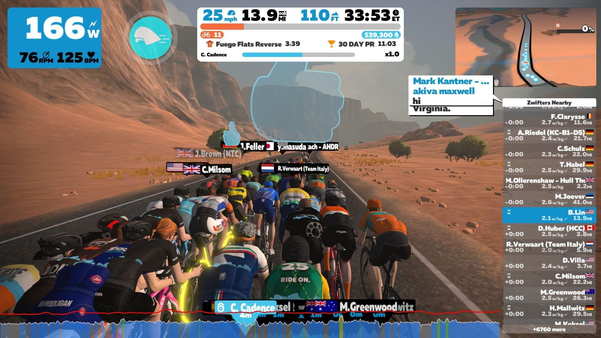 Zwift social pacer bot group ride ride on