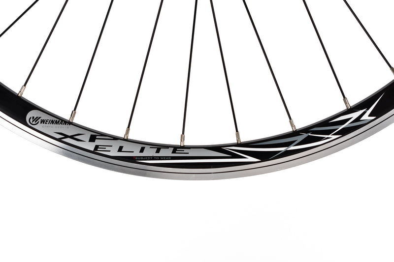 Weinmann XP Elite Aluminum Clincher 700c Wheelset cockpit