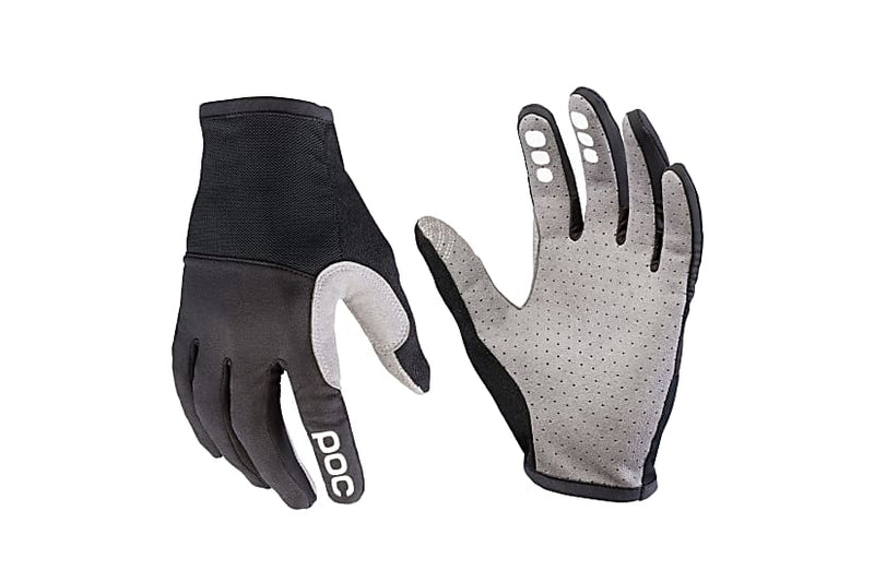 POC Resistance Pro XC Gloves Carbon Black Medium drive side