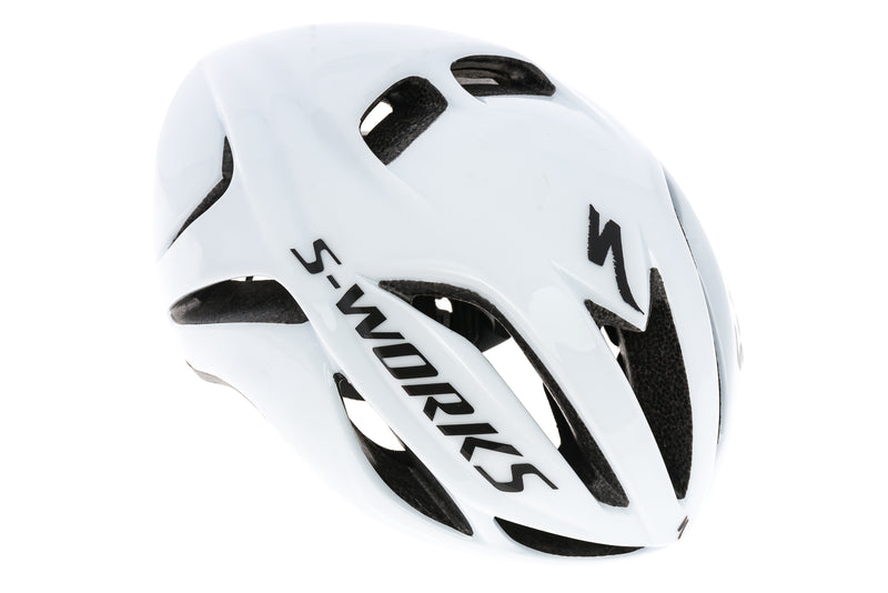 Specialized S-Works Evade Road Bike Helmet Small 51-57cm White drive side