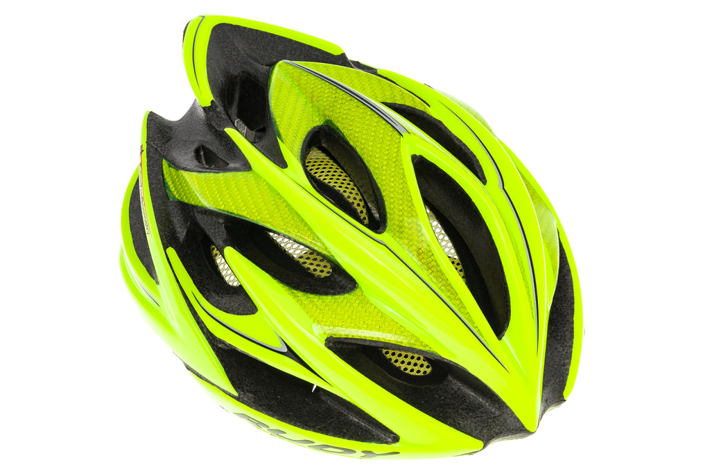 Rudy Project Windmax Bike Helmet Small/Medium 54-58cm Hi-Vis Yellow - Pre-Owned