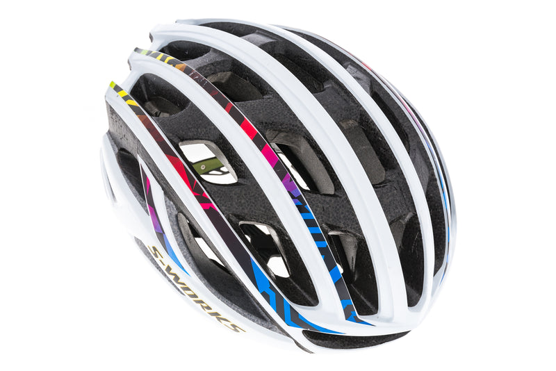 Specialized S-Works Prevail II Bike Helmet Large 59-63cm White drive side
