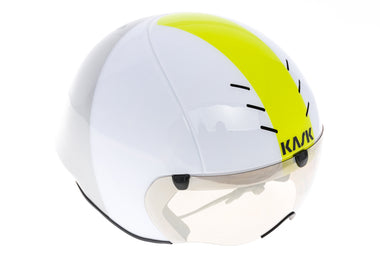 KASK Mistral Aero Helmet Medium 55-58cm White/Yellow/Gray