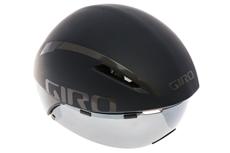 Giro Aerohead MIPS Time Trial Bike Helmet Medium 55-59cm Black drive side