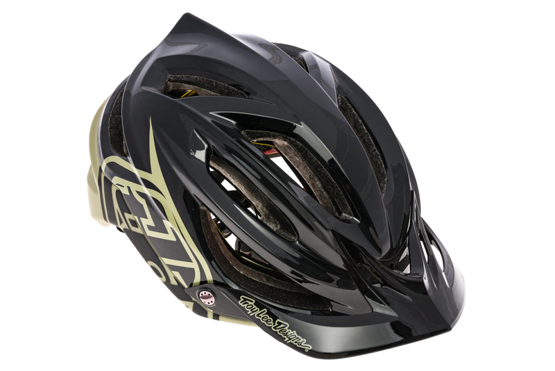 Troy Lee Designs A2 MIPS Decoy Bike Helmet M/L 57-59cm Black/Stone drive side