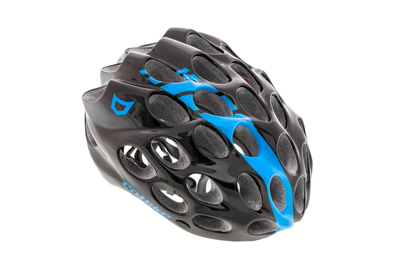 Catlike Whisper Road Bike Helmet Small 54-56cm Black/Blue drive side