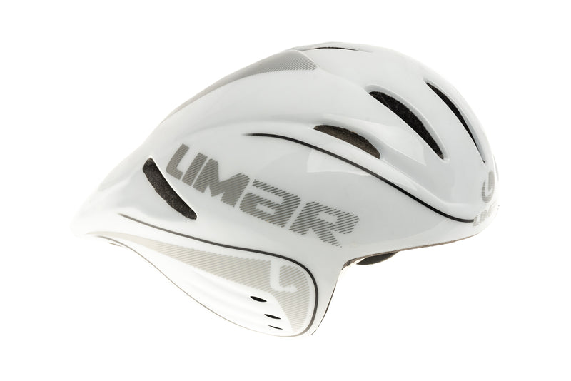 Limar Speed Demon Bike Helmet Large 54-61cm White/Black drive side