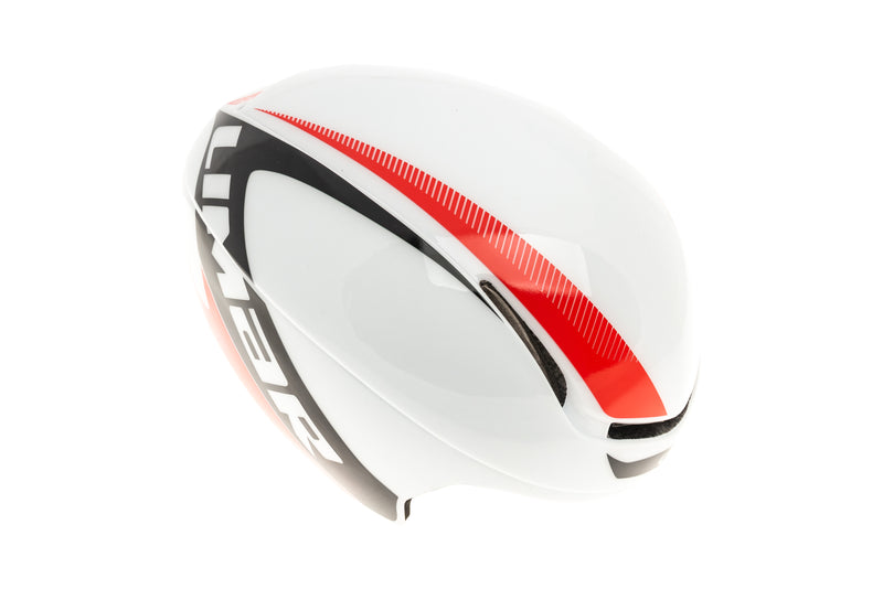 Limar Speed King Superlight Bike Helmet Unisize Large 54-61cm White/Black/Red drive side