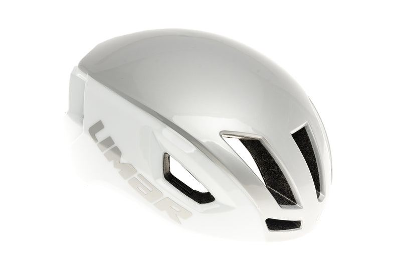 Limar Air Speed Bike Helmet Medium 52-56cm White/Silver drive side