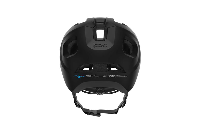 POC Axion SPIN Bike Helmet XL/XXL 59-62cm Matt Black sticker