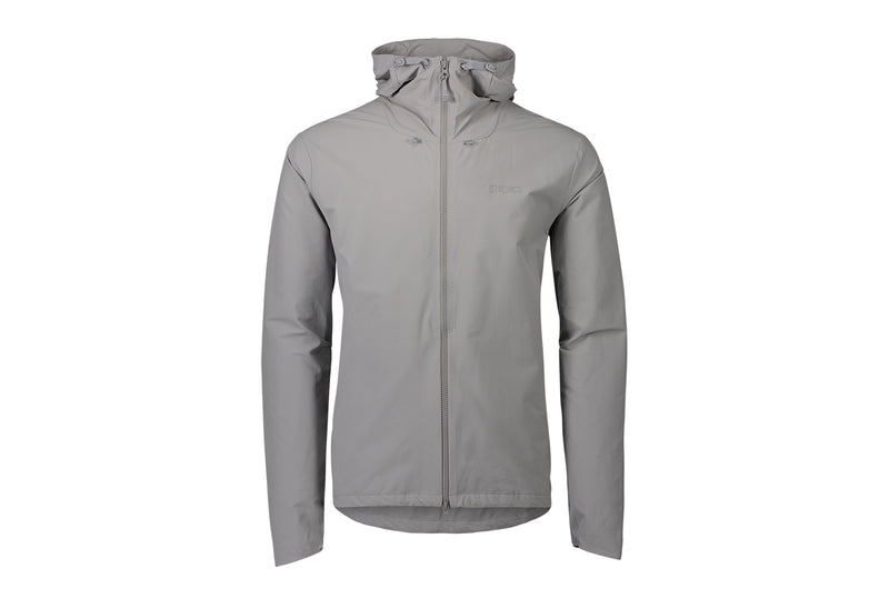 POC Men's Transcend Jacket Alloy Grey drive side
