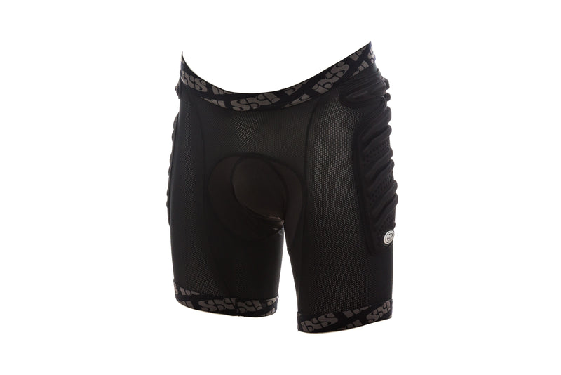 IXS Skid Pants Evo-II Cycling Pad Black drive side