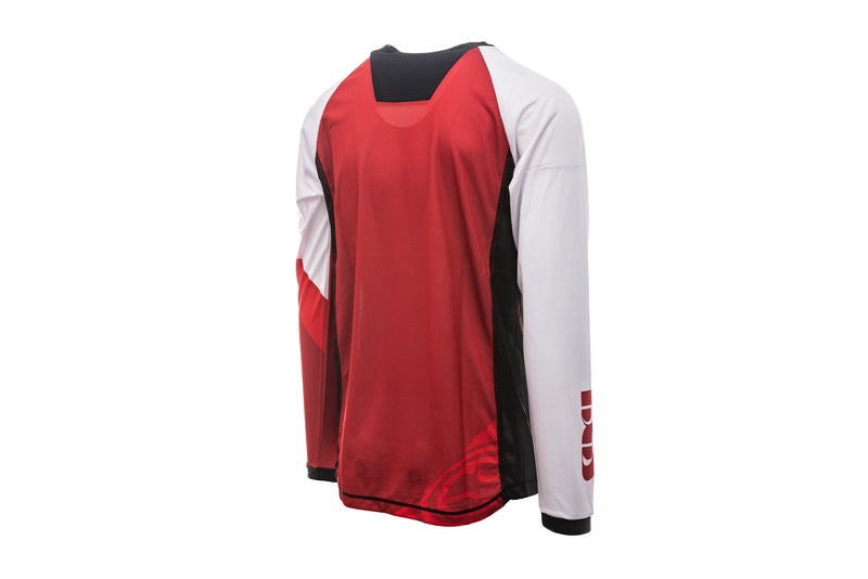 IXS Race 7.1 DH Jersey Fluor Red non-drive side