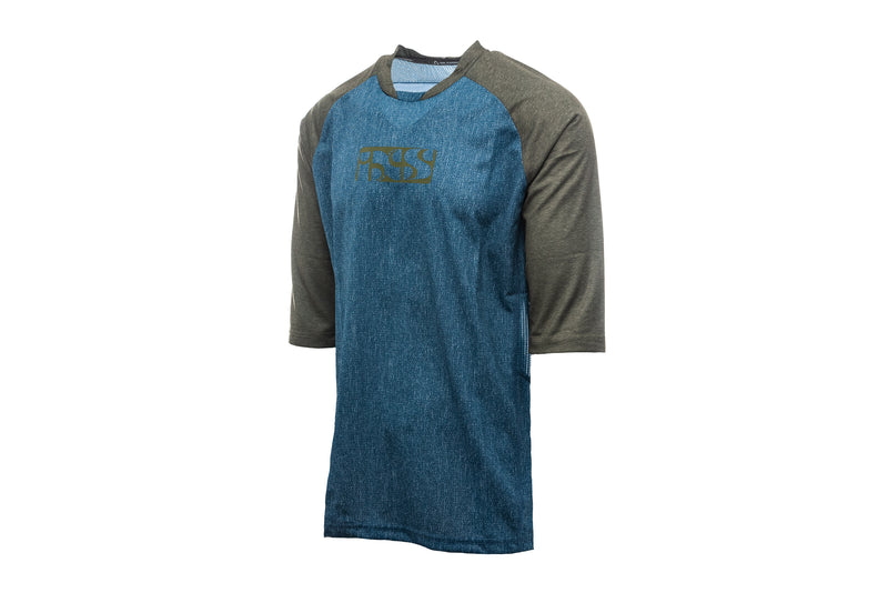 IXS Vibe 8.2 Jersey Ocean/Olive drive side