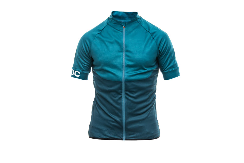 POC Resistance XC Zip Tee Draconis Blue Medium drive side