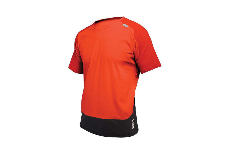 POC Resistance XC Tee Prismane Red Medium drive side