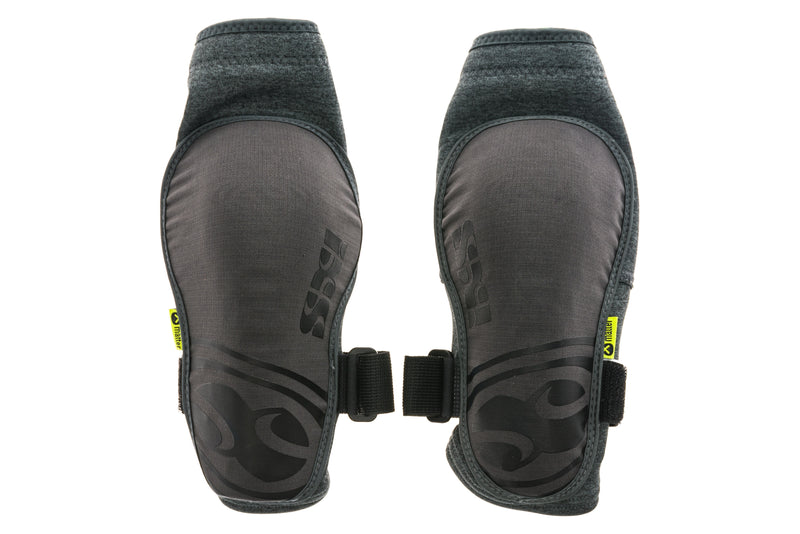 IXS Flow Evo+ Elbow Guards Medium Grey drive side