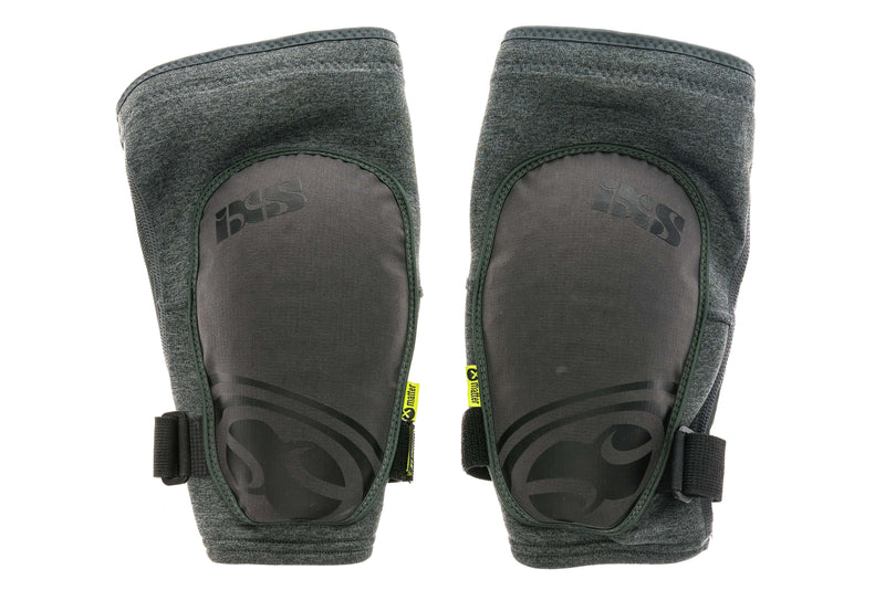 IXS Flow Evo+ Knee Guards Large Grey drive side