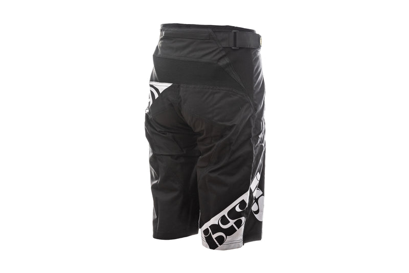 IXS Race 7.1 DH Shorts Black non-drive side