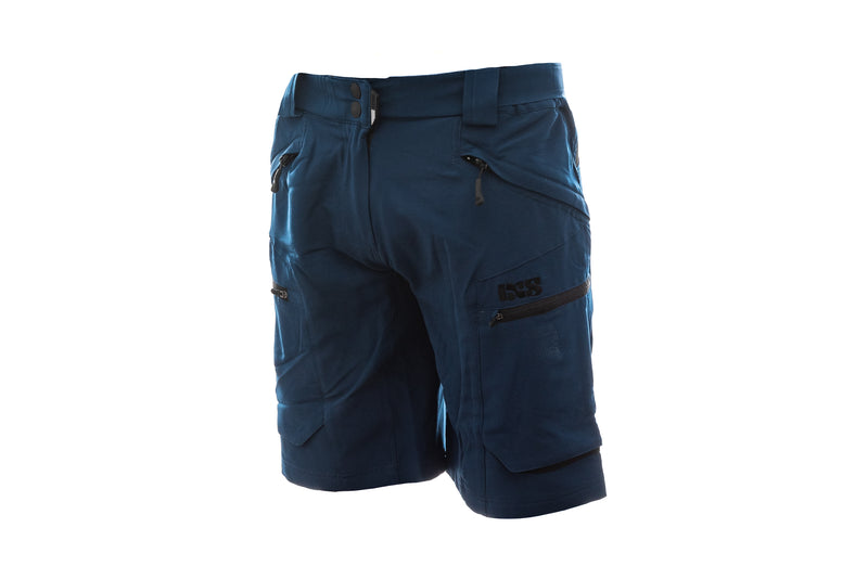 IXS Tema 6.1 Trail Womens Shorts Dark Blue drive side