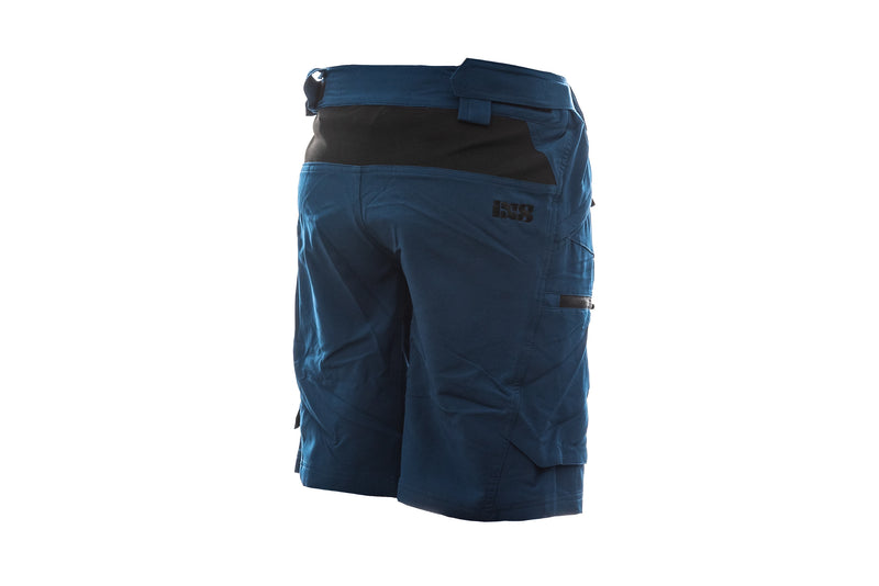 IXS Tema 6.1 Trail Womens Shorts Dark Blue non-drive side